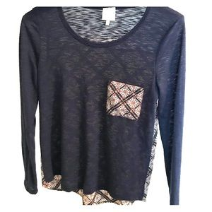 Buckle Patterned Blouse